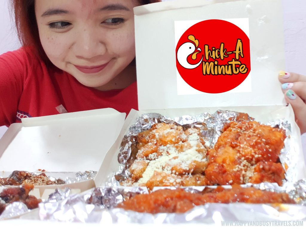 Chick A Minute - Chicken Wings home delivery service in Cavite - Happy and Busy Travels