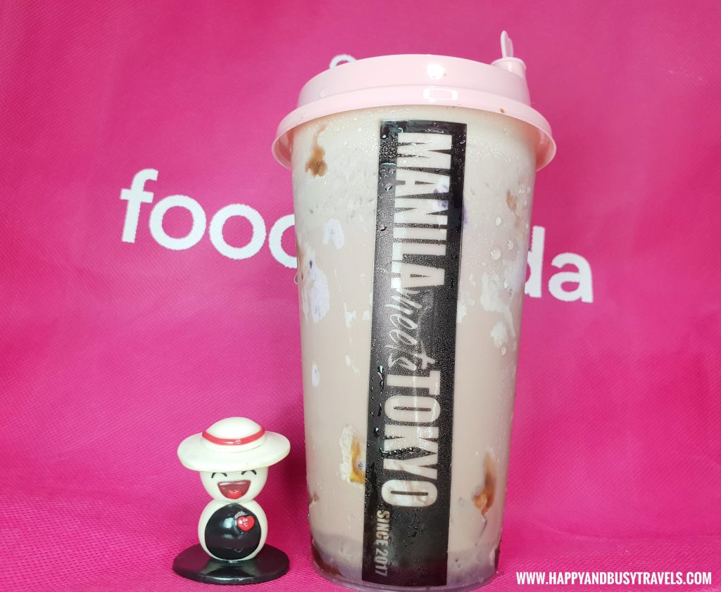 Foodpanda now in Cavite milk tea manila meets tokyo Happy and Busy Travels Review