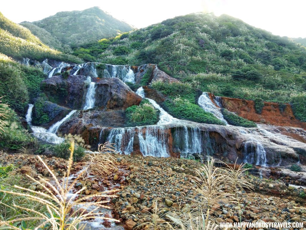 Golden Waterfall in Ruifang District Taiwan Happy and Busy Travels