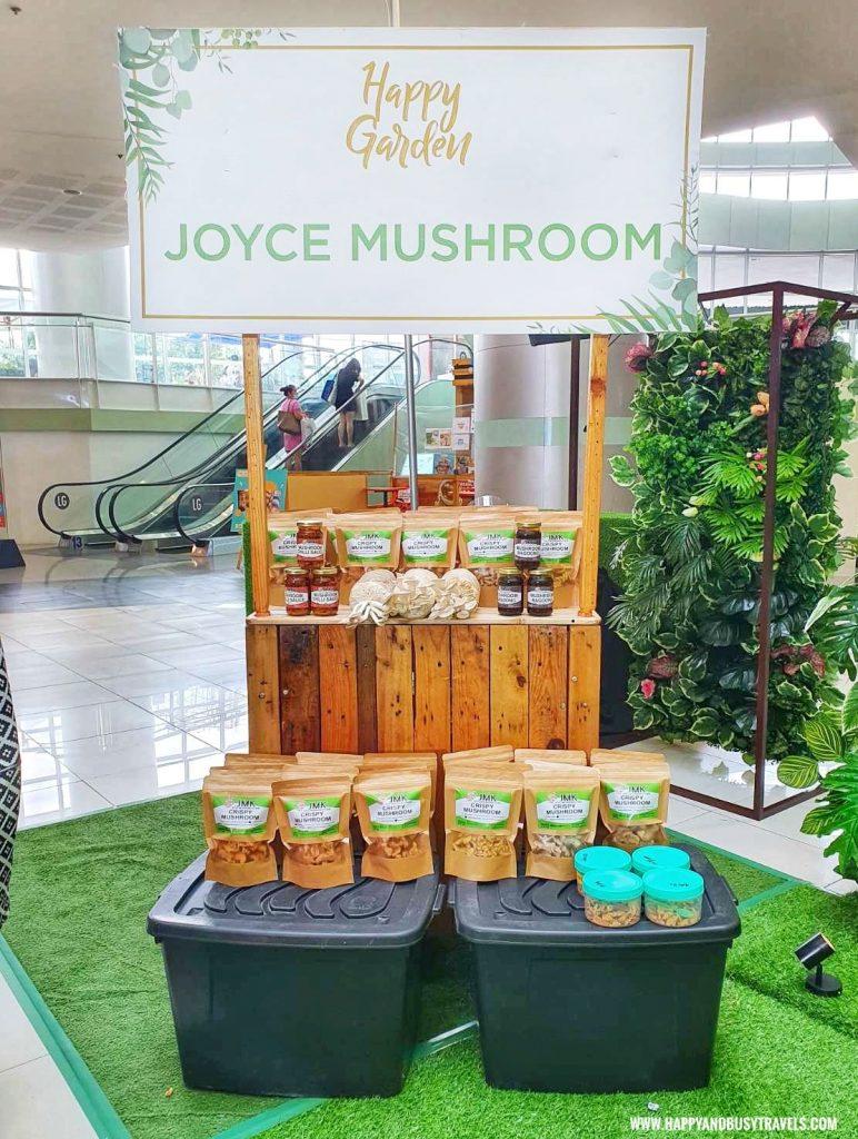 joyce mushroom kitchen Happy Garden SM Dasmarinas Cavite Plantito plantita plants expo and fresh produce happy and busy travels experience