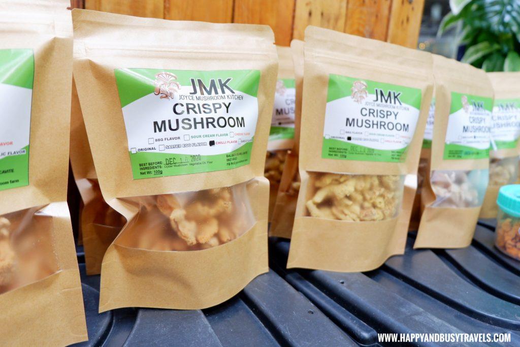 crispy mushroom joyce mushroom kitchen Happy Garden SM Dasmarinas Cavite Plantito plantita plants expo and fresh produce happy and busy travels experience