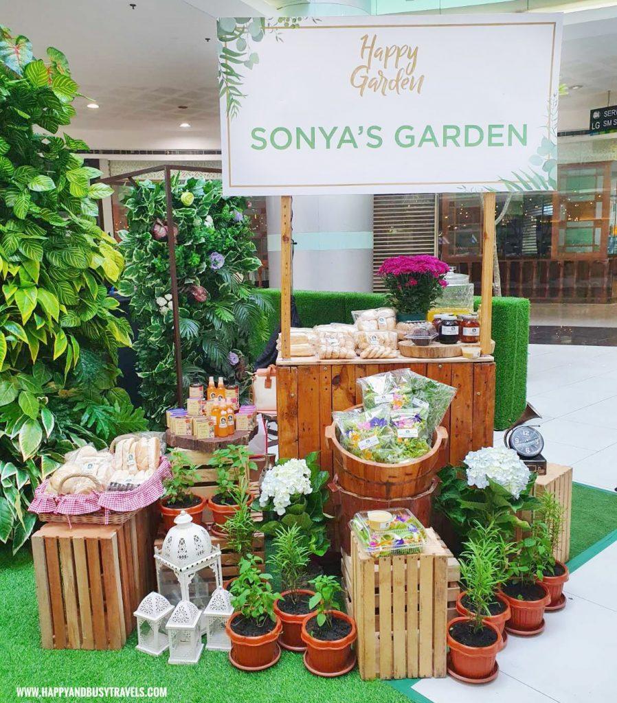 sonya's garden Happy Garden SM Dasmarinas Cavite Plantito plantita plants expo and fresh produce happy and busy travels experience