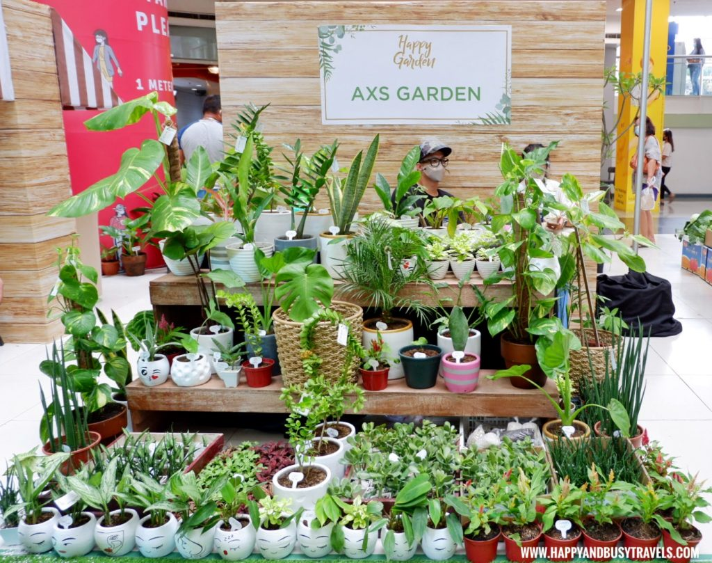 axs garden Happy Garden SM Dasmarinas Cavite Plantito plantita plants expo and fresh produce happy and busy travels experience