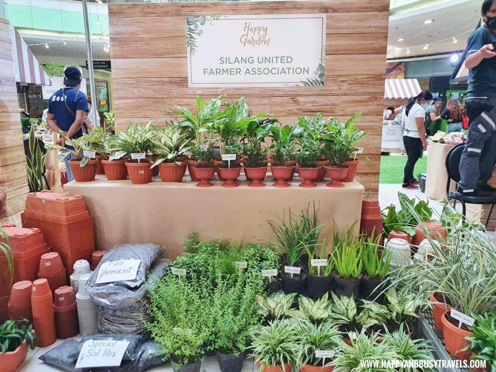silang united farmers association Happy Garden SM Dasmarinas Cavite Plantito plantita plants expo and fresh produce happy and busy travels experience