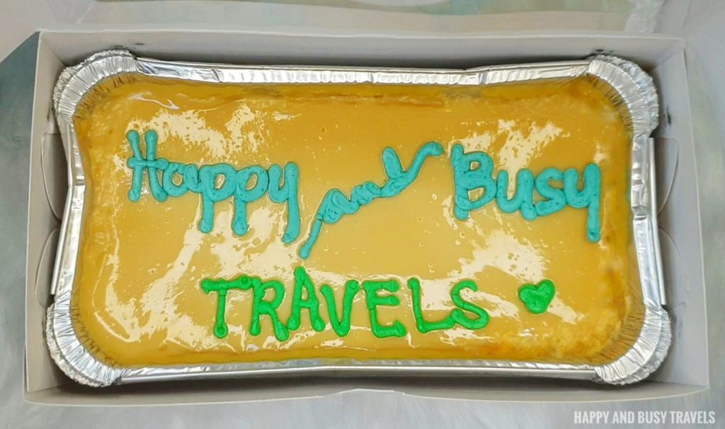 Baked by Ching - Caramel Cake - Happy and Busy Travels Review