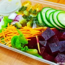 D'Le Mere Healthy & Wellness Kitchen - Right Keto Diet - salad - Happy and Busy Travels