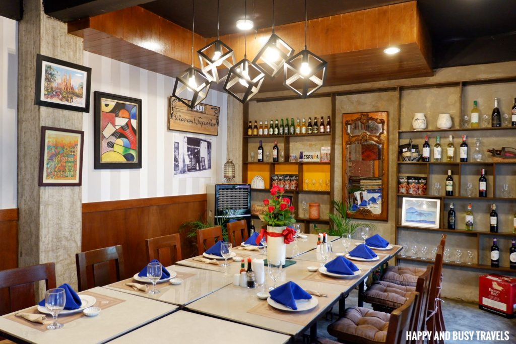 Galli Spanish Restaurant Tagaytay - Happy and Busy Travels Review