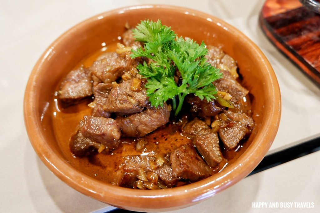 wagyu beef salpicao Galli Spanish Restaurant Tagaytay - Happy and Busy Travels Review