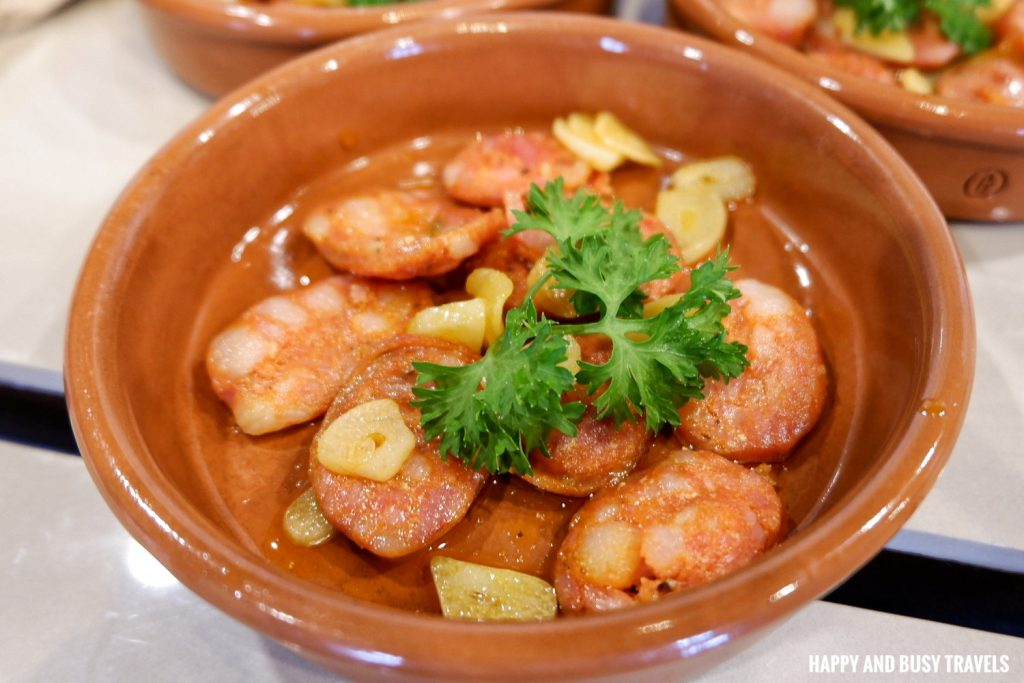 Chorizo Frito Galli Spanish Restaurant Tagaytay - Happy and Busy Travels Review