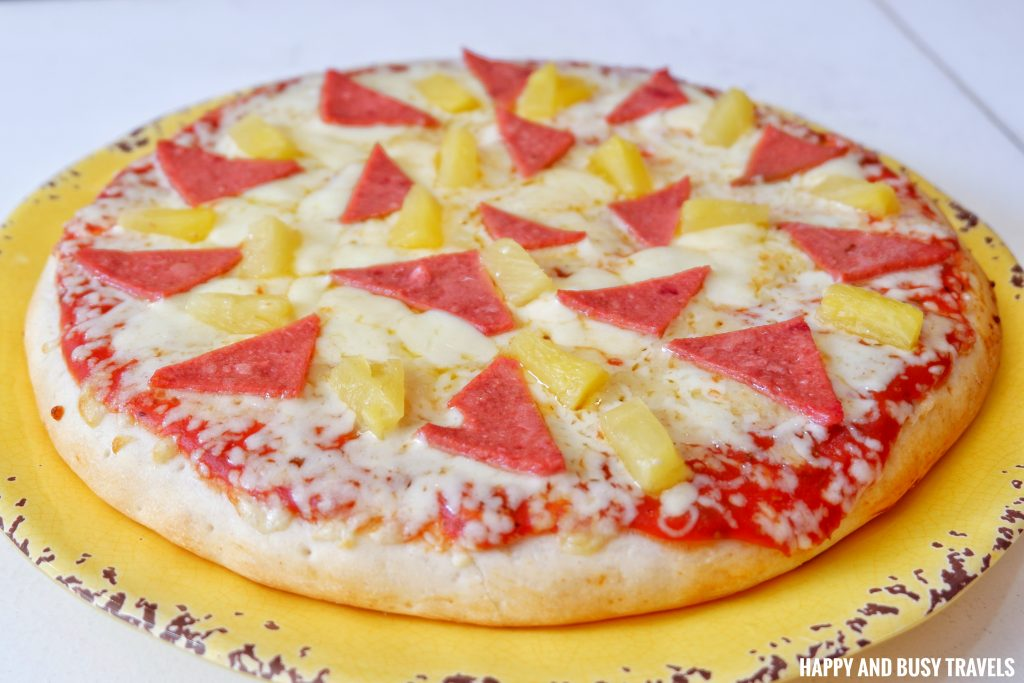 Pizzas of the World Molino Bacoor 12 - Hawaiian Hula Pizza - Happy and Busy Travels Review