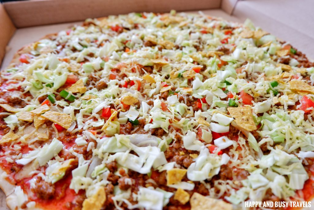 Pizzas of the World Molino Bacoor 22 - Taco Bravo Pizza - Happy and Busy Travels Review