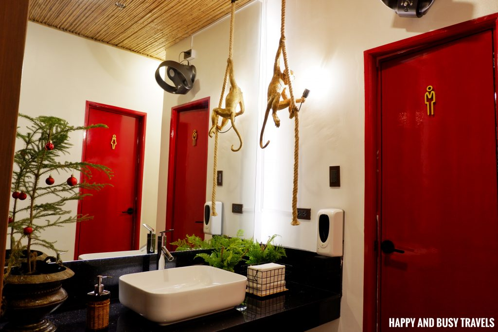 roofdeck comfort room Unwnd Lux Hostel Poblacion Makati - Happy and Busy Travels review