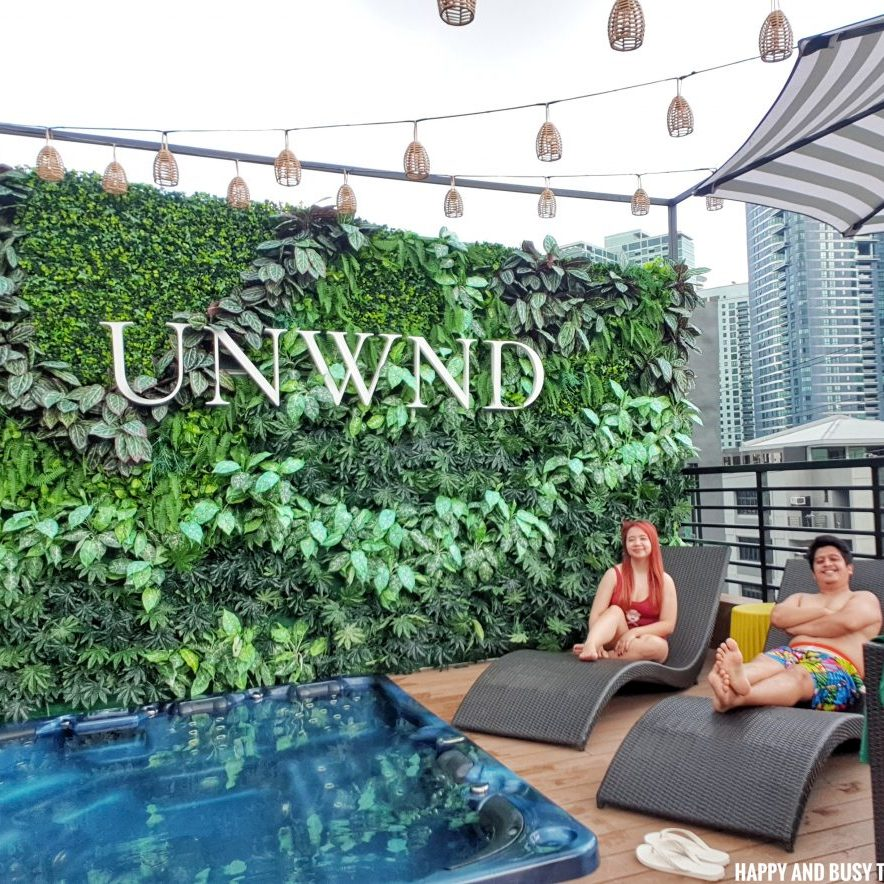 jacuzzi Unwnd Lux Hostel Poblacion Makati - Happy and Busy Travels review