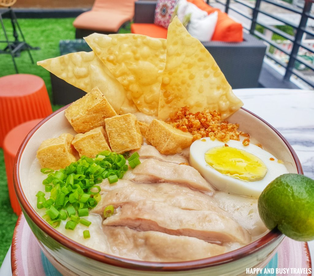 Chicken Oats Caldo Unwnd Lux Hostel Poblacion Makati - Happy and Busy Travels review