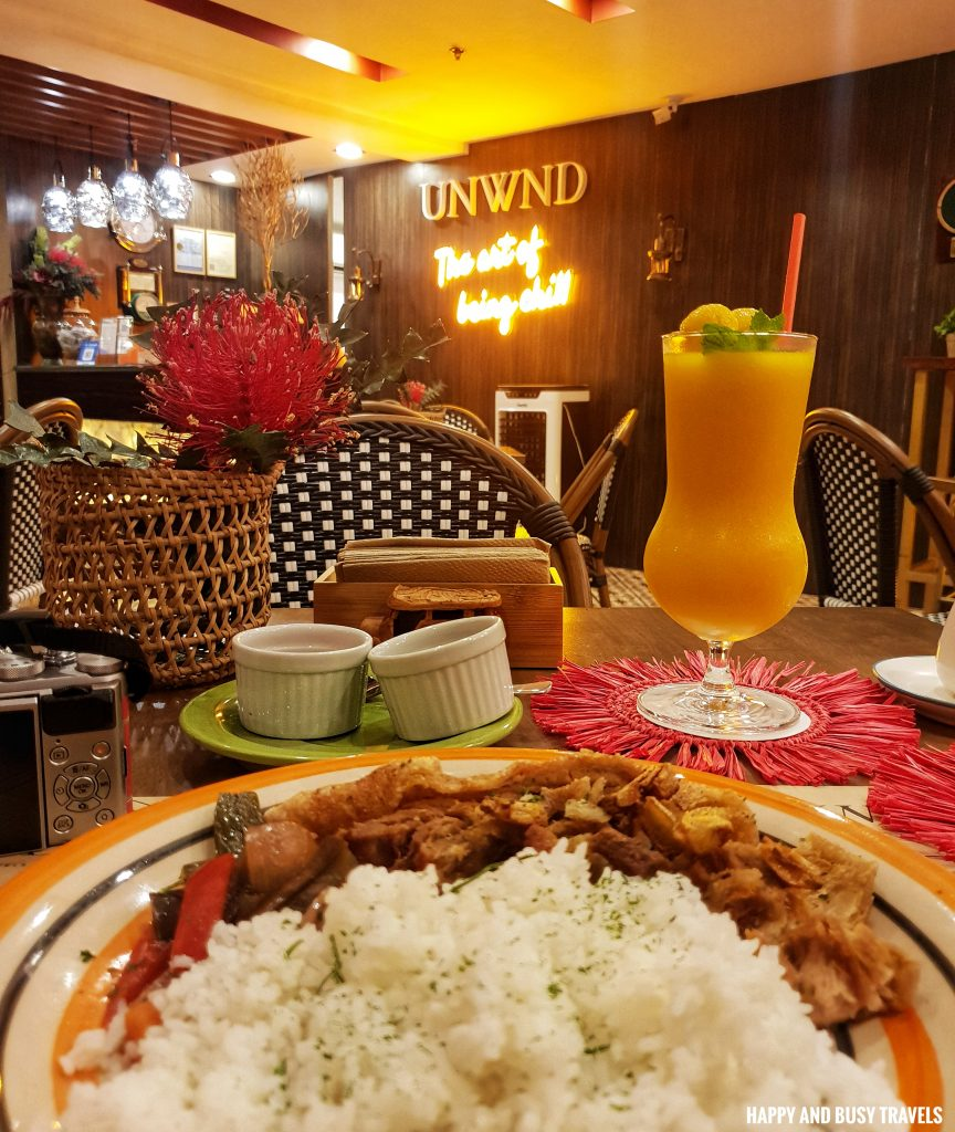Crispy Lechon Kawali Plate Unwnd Lux Hostel Poblacion Makati - Happy and Busy Travels review