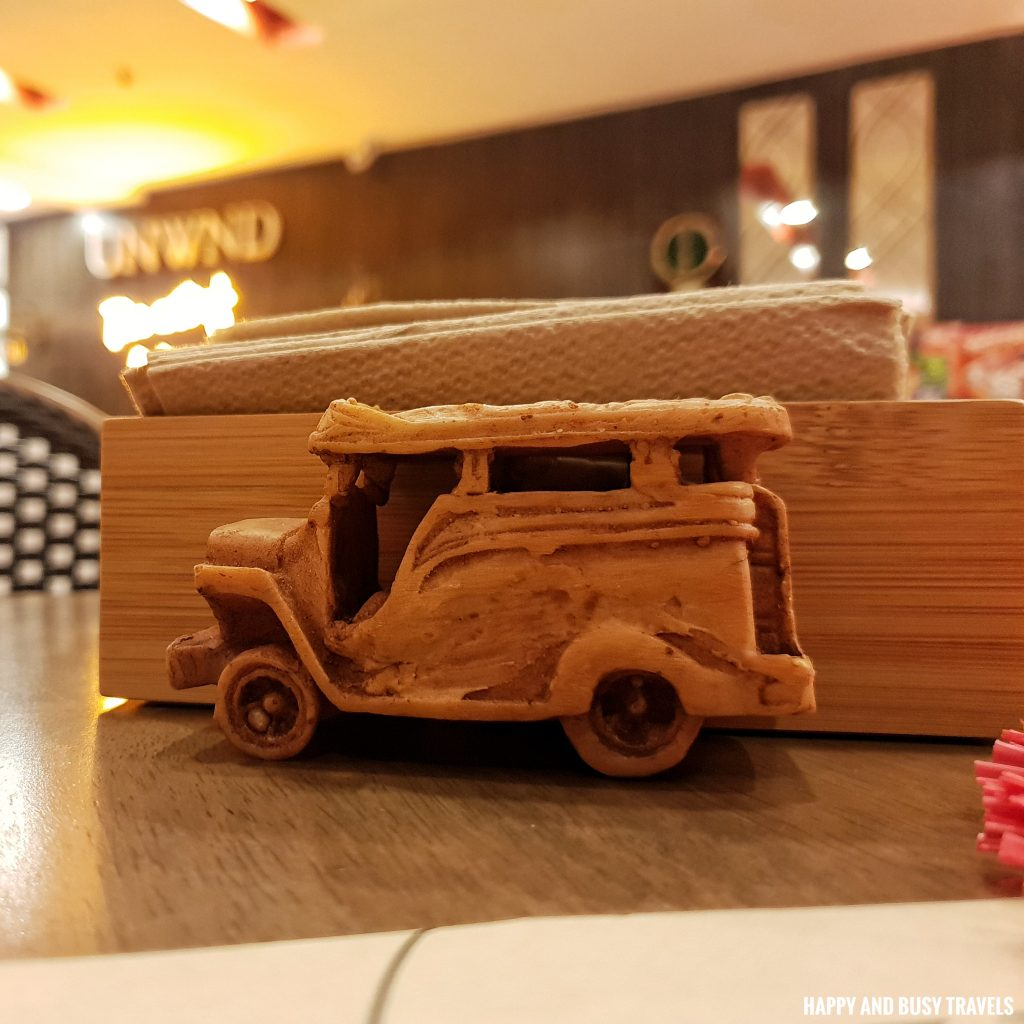 jeepney tissue holder Unwnd Lux Hostel Poblacion Makati - Happy and Busy Travels review