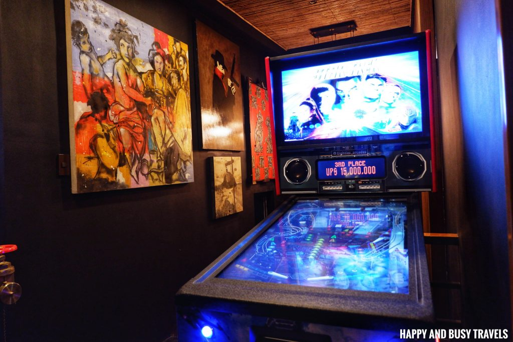 Pinball Machine Unwnd Lux Hostel Poblacion Makati - Happy and Busy Travels review