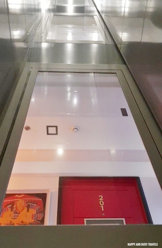 Cool elevator Unwnd Lux Hostel Poblacion Makati - Happy and Busy Travels review