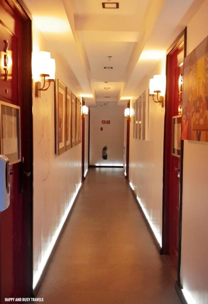 hallway Unwnd Lux Hostel Poblacion Makati - Happy and Busy Travels review