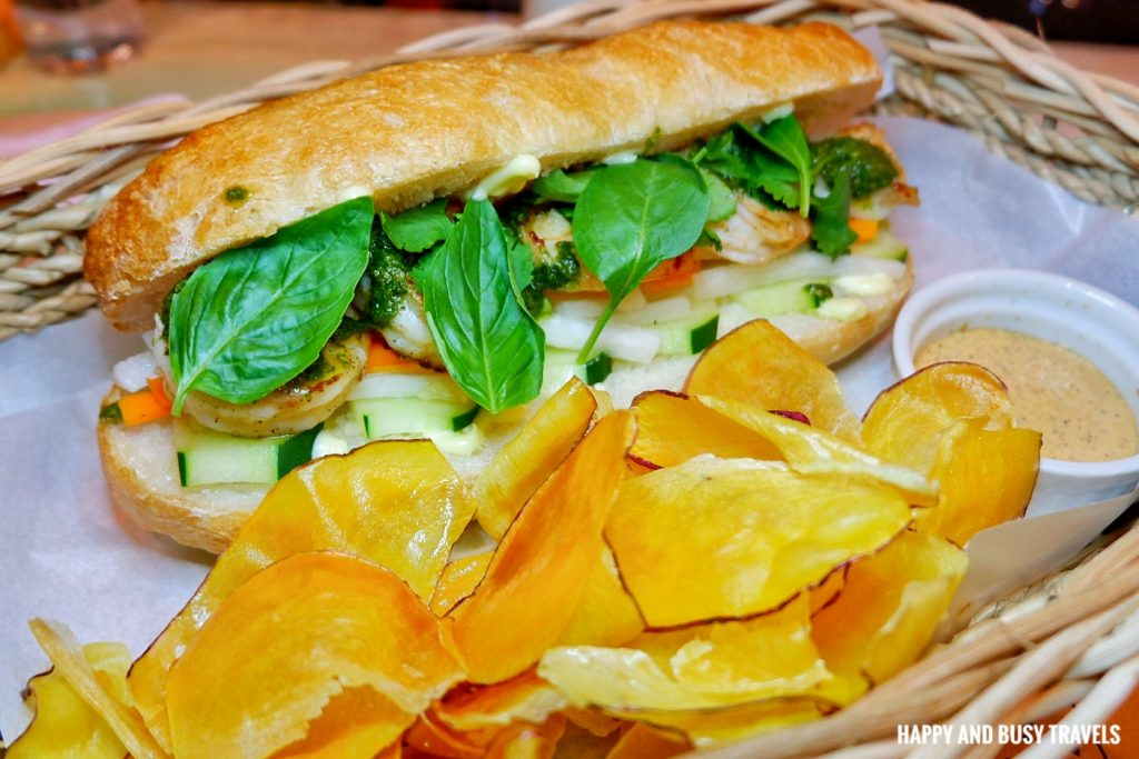 WYP Restaurant What's your poison Poblacion Makati - Bahn Mi Shrimp Php 185 - Happy and Busy Travels