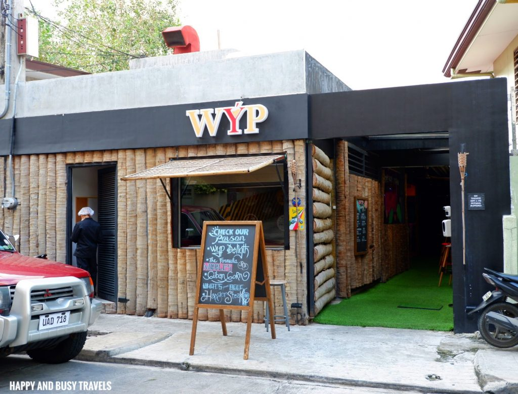 WYP Restaurant What's your poison Poblacion Makati - Happy and Busy Travels