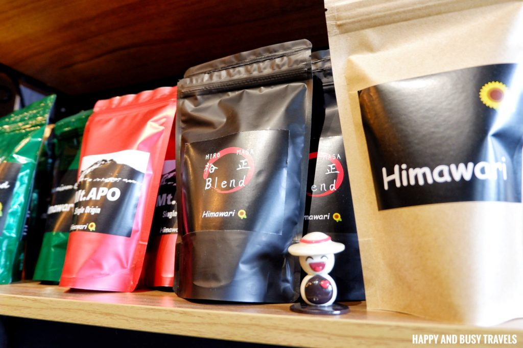 premium blend Himawari Specialty Coffee Silang Tagaytay - Happy and Busy Travels Review