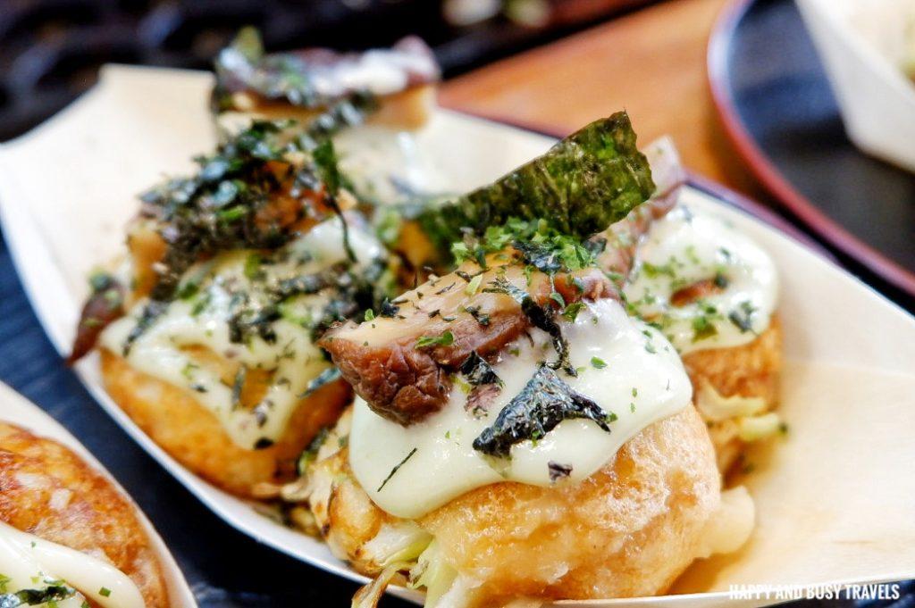 Fujin Shitake Kicho Japanese Yatai Food Ramen Takoyaki - Happy and Busy Travels to Imus Cavite