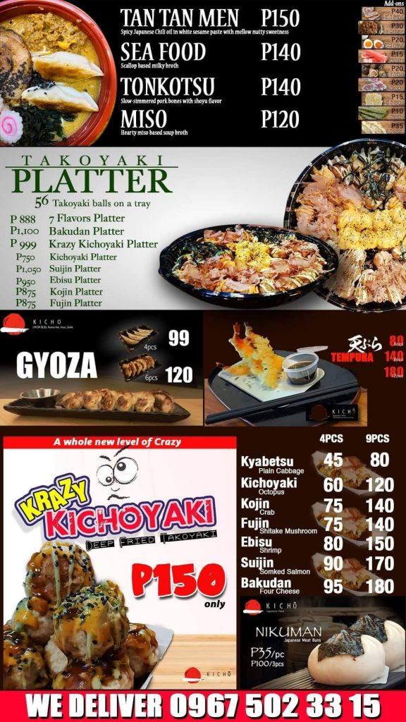 Kicho Japanese Yatai Food Ramen Takoyaki ramen - Happy and Busy Travels to Imus Cavite