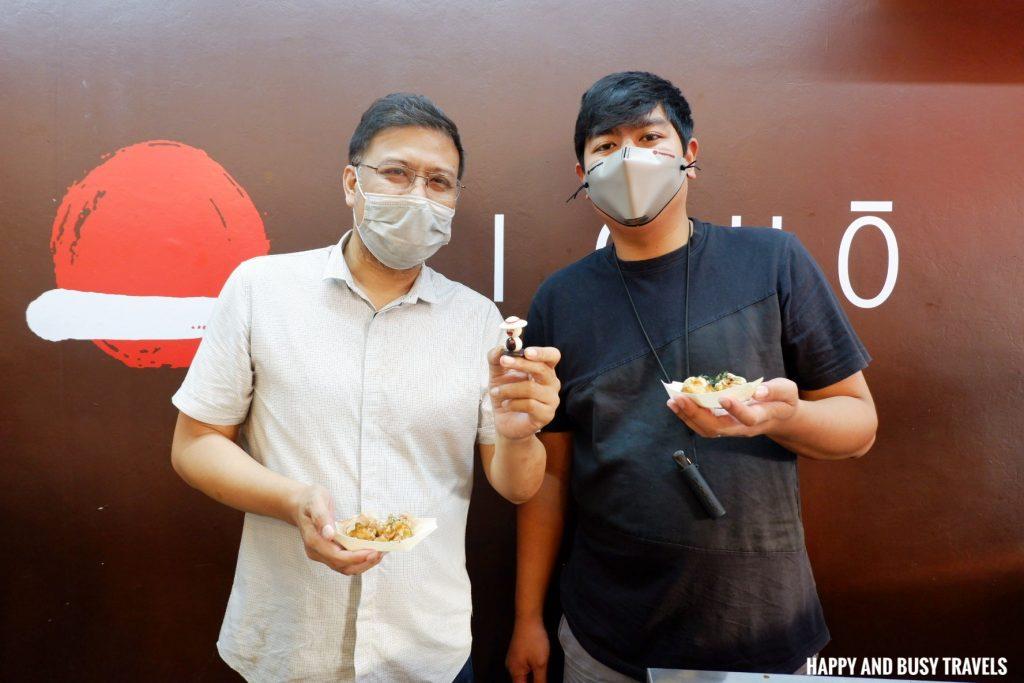 owners Kicho Japanese Yatai Food Ramen Takoyaki - Happy and Busy Travels to Imus Cavite