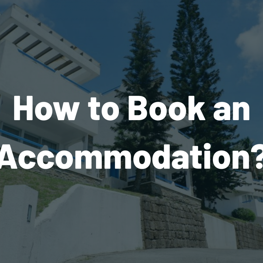 How to Book an Accommodation resort hotel