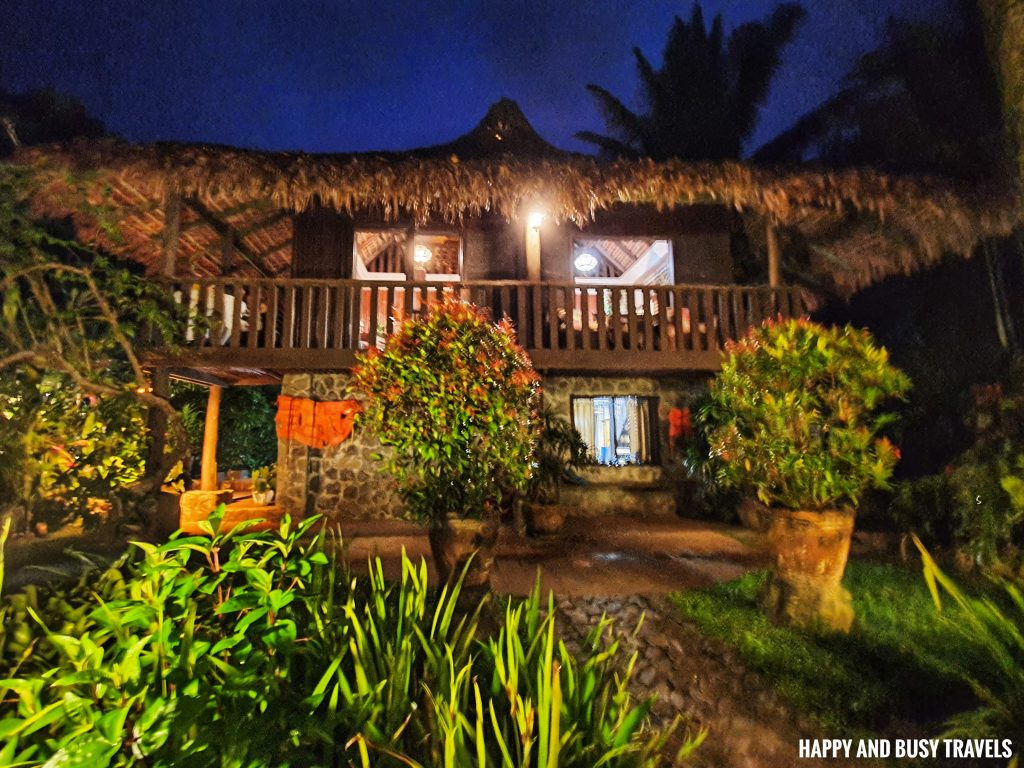 main house at night Julian's Julians Island Lodge - Happy and Busy Travels to Cavinti Laguna