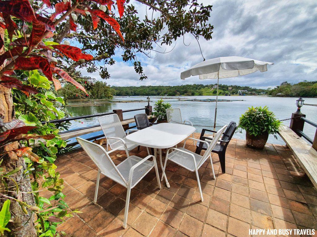 veranda Julian's Julians Island Lodge - Happy and Busy Travels to Cavinti Laguna
