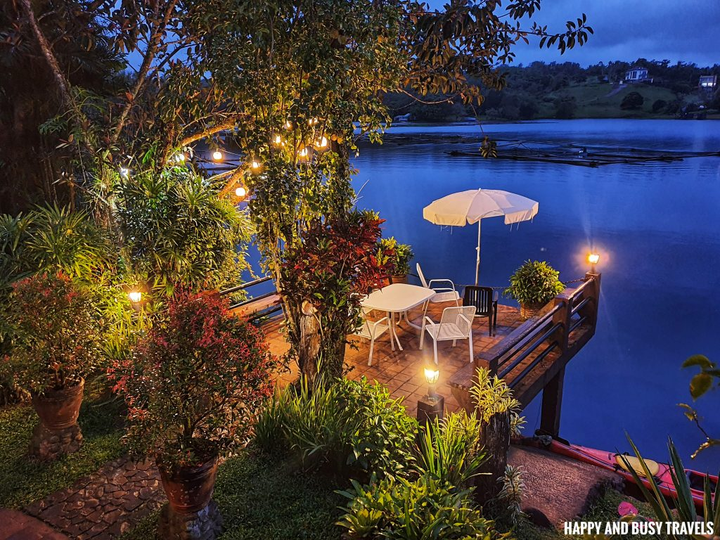 veranda at night Julian's Julians Island Lodge - Happy and Busy Travels to Cavinti Laguna