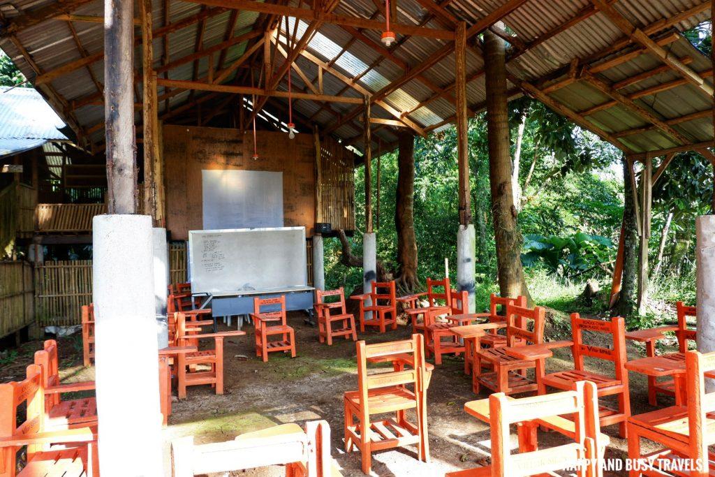 classroom Farm T House block house - Happy and Busy Travels to Cavinti Laguna