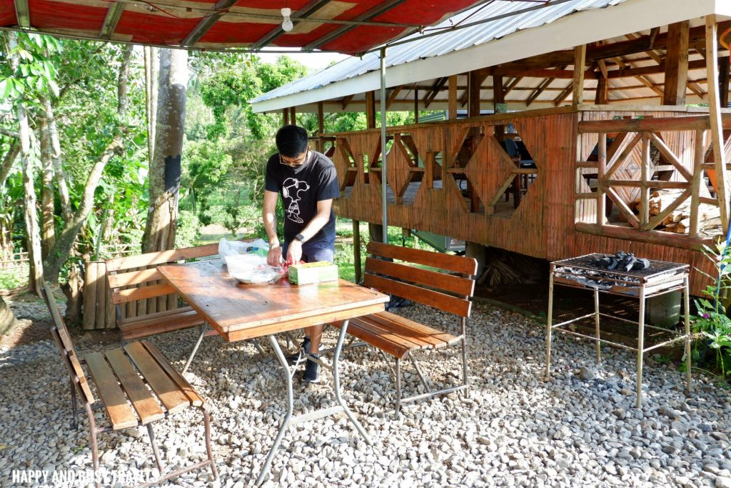 pantry and grilling area Farm T House block house - Happy and Busy Travels to Cavinti Laguna