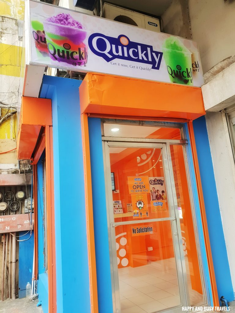 Quickly Bayan Dasmarinas City Cavite branch - Happy and Busy Travels