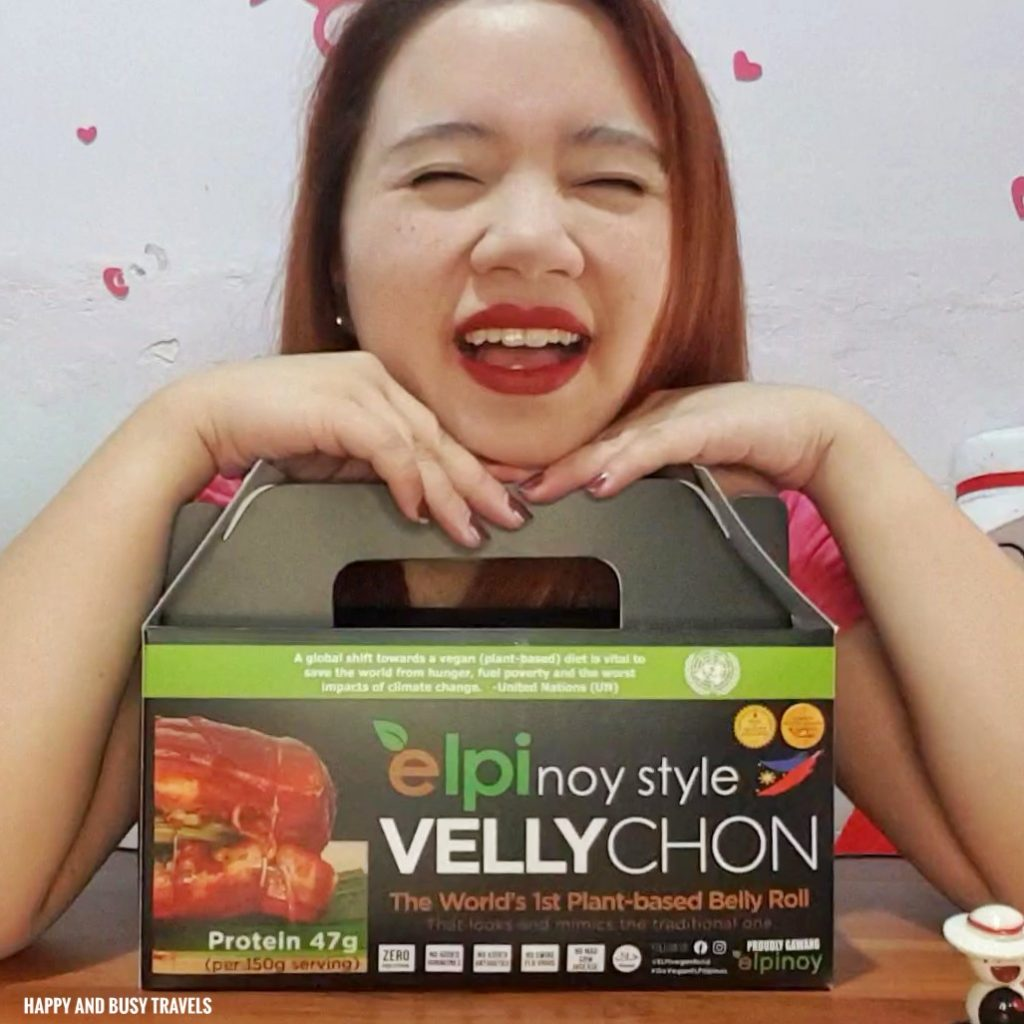 Elpinoy Style Vellychon Vegan Lechon Pork Belly Happy and Busy Travels review