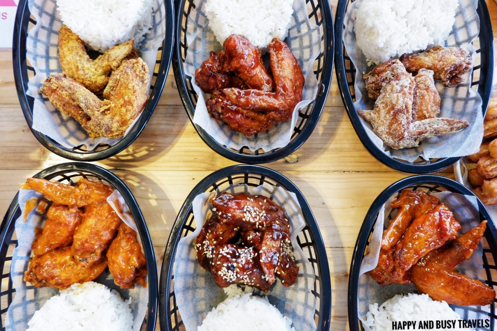Chicken wings meal Nai Cha Rap Milk Tea Bacoor - Happy and Busy Travels to Cavite