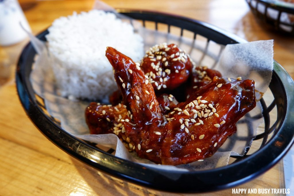 Teriyaki chicken wings Nai Cha Rap Milk Tea Bacoor - Happy and Busy Travels to Cavite