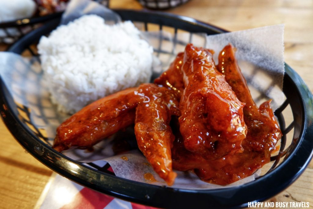 Soy Garlic Chicken wings Nai Cha Rap Milk Tea Bacoor - Happy and Busy Travels to Cavite