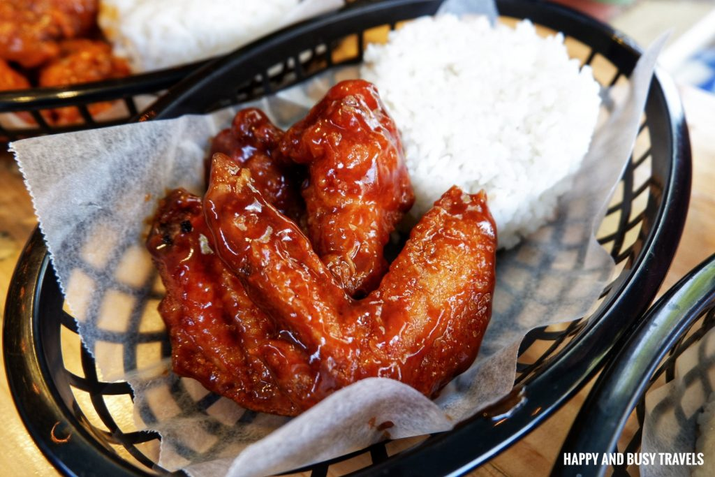 Hickory Barbeque chicken wings Nai Cha Rap Milk Tea Bacoor - Happy and Busy Travels to Cavite