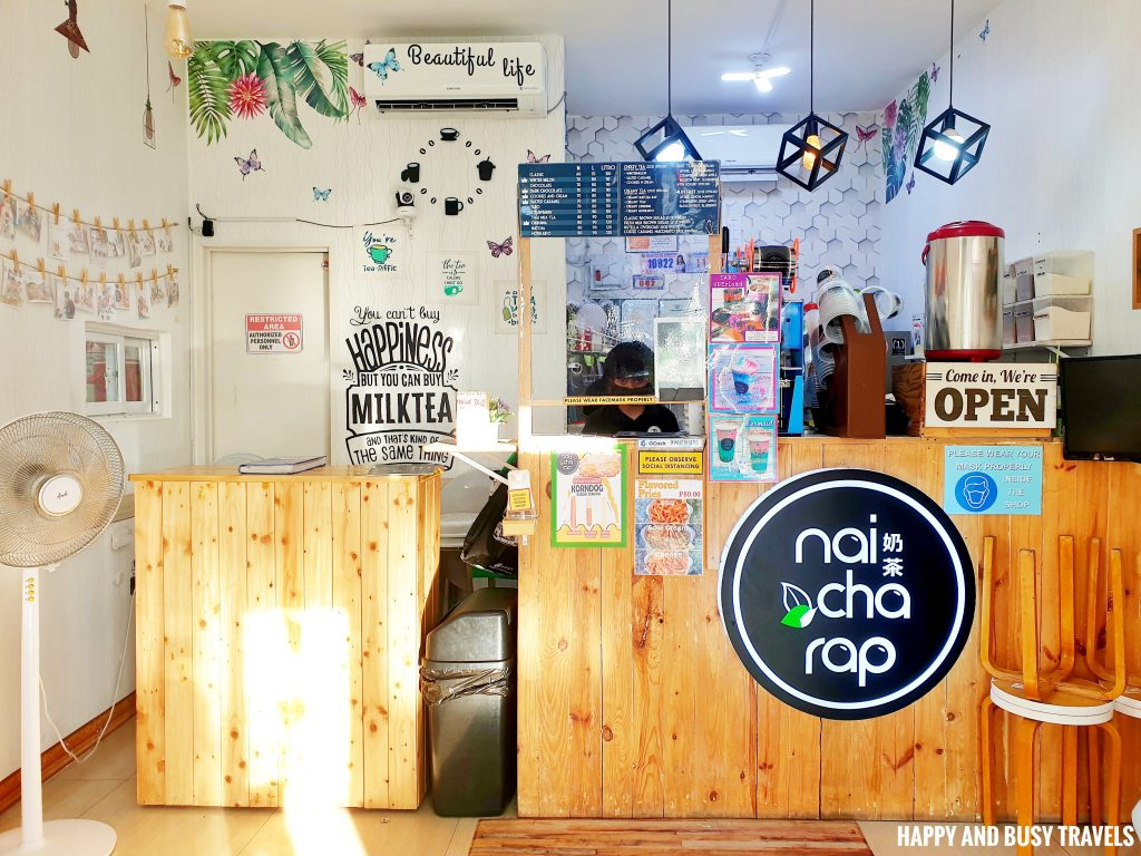 Nai Cha Rap Milk Tea Bacoor - Happy and Busy Travels to Cavite