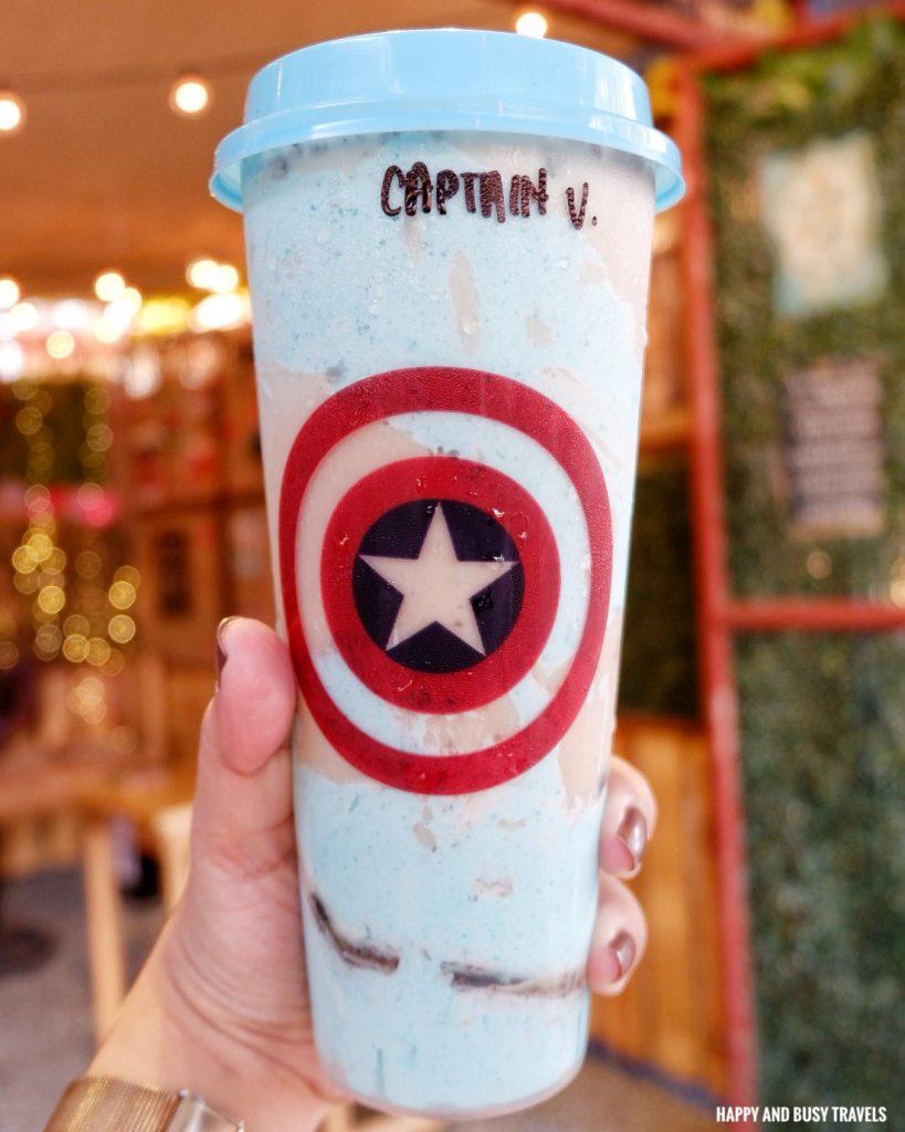 Captain V Milk tea Nai Cha Rap Milk Tea Bacoor - Happy and Busy Travels to Cavite