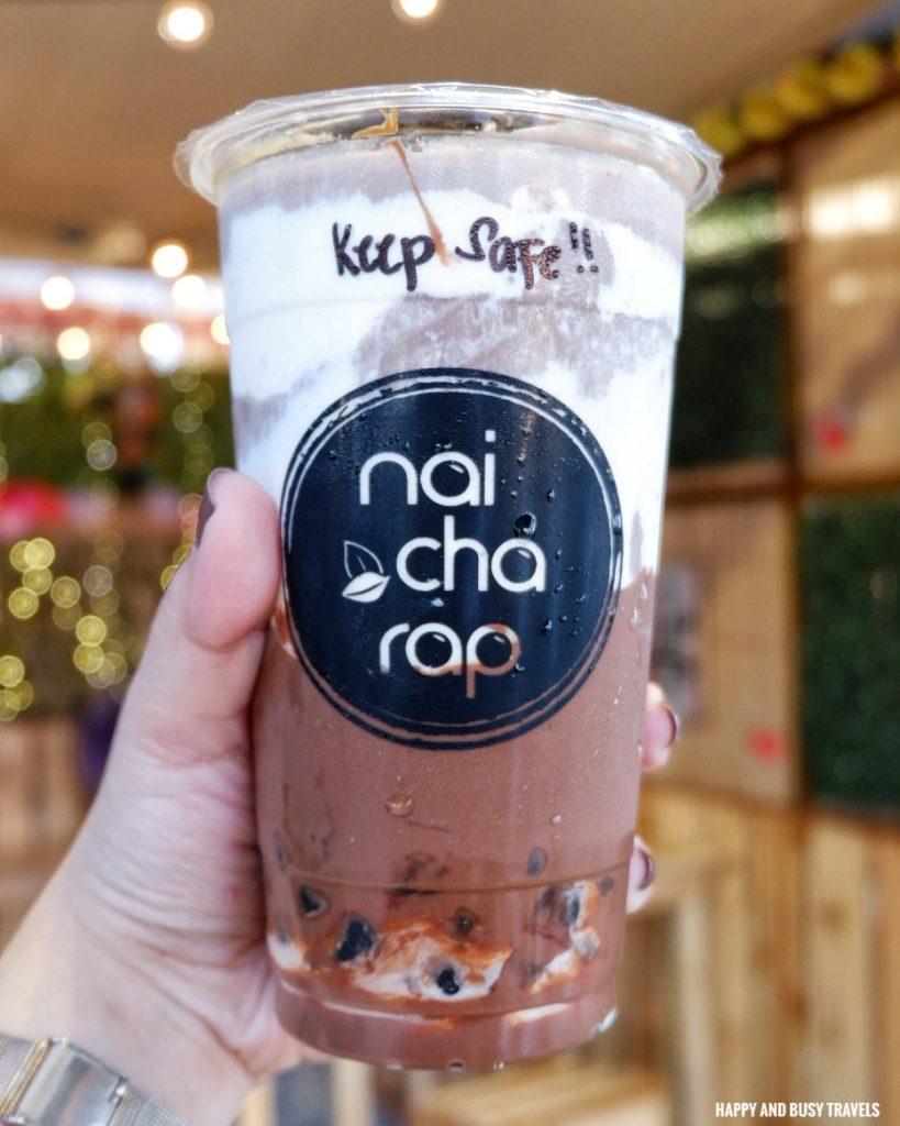 nutella milk tea Nai Cha Rap Milk Tea Bacoor - Happy and Busy Travels to Cavite