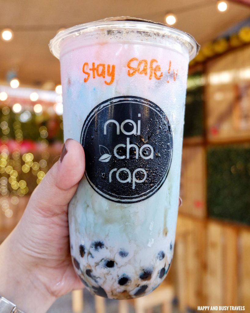 Mermaid milk tea Nai Cha Rap Milk Tea Bacoor - Happy and Busy Travels to Cavite