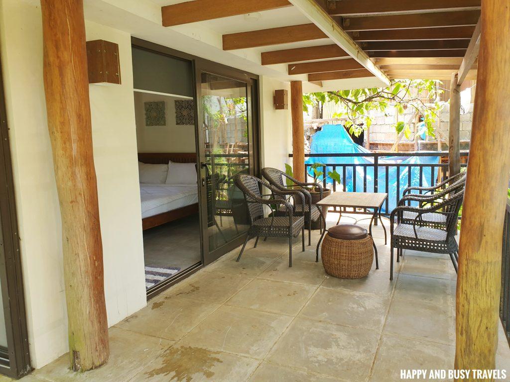 Baliraya Resort and Spa 18 - Villa 2 balcony - Happy and Busy Travels to Laguna