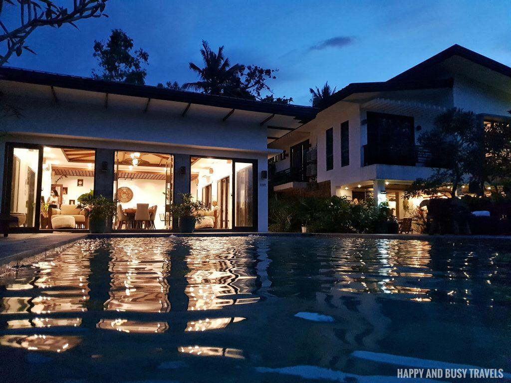 Baliraya Resort and Spa 51 - swimming pool at night restaurant - Happy and Busy Travels to Laguna