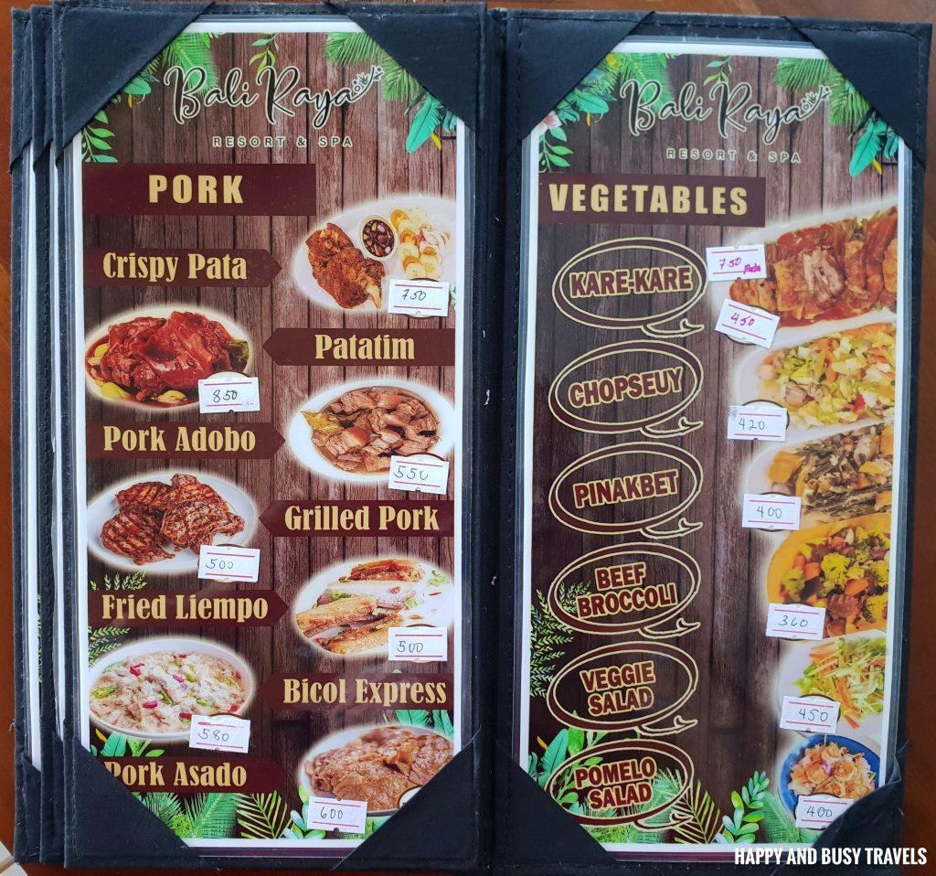 Baliraya Resort and Spa 60 - menu - Happy and Busy Travels to Laguna