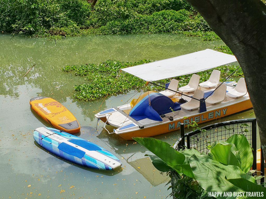 Baliraya Resort and Spa 65 - boat ride paddle board - Happy and Busy Travels to Laguna