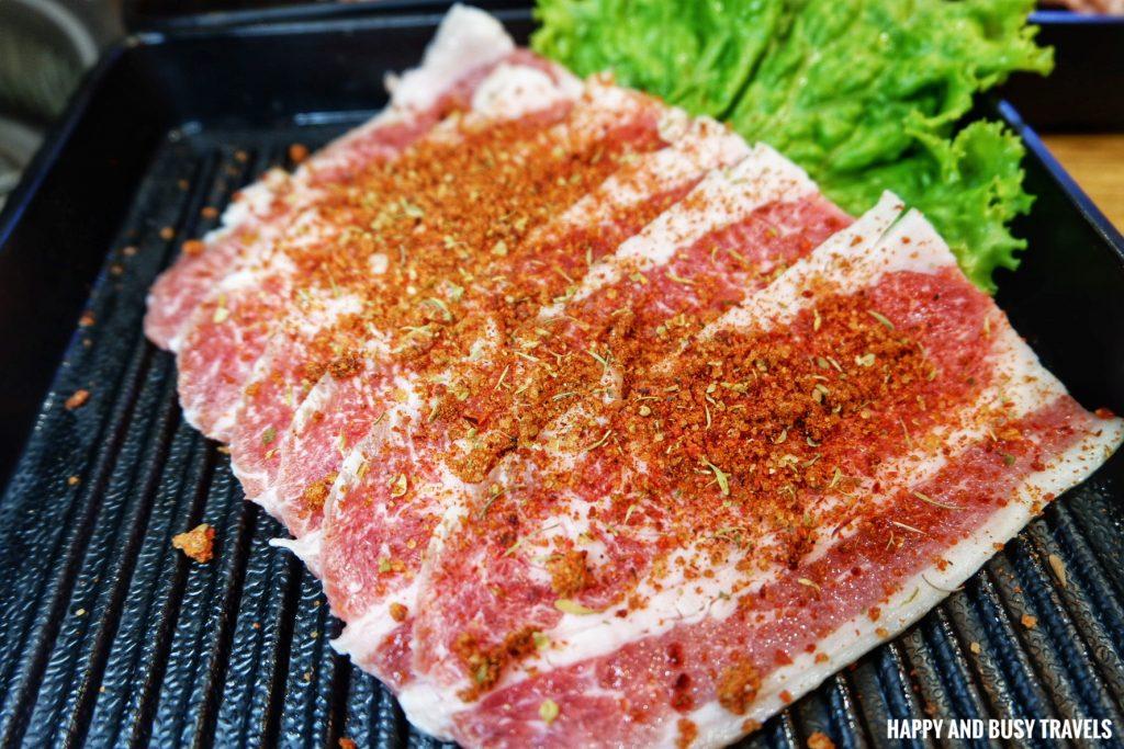 Beef Dry Rub Woosamgyup Jin Joo Korean Grill - Happy and Busy Travels